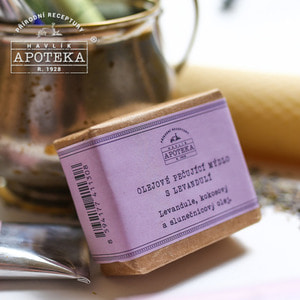 Havlik Apoteka, 라벤더 오일 비누_85g / Soap with care oils and lavender